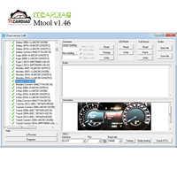 MTool V1.46 compatible con el Software de corrección del odómetro de 2019 coches Set completo Dongle + adaptador Denso + Cable de cables de Pin Denso + Els27