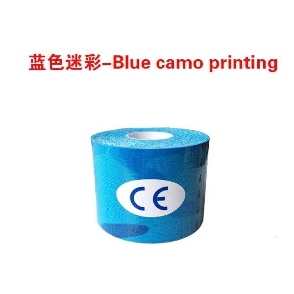 Кинезиологическая лента Атлетическая эластопласт спортивная водонепроницаемая лента медицинская терапия самоклеющаяся повязка на колено Защитная муфта для мышц L2147SPA - Цвет: Многоцветный