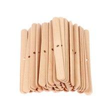 Mechas para velas de madera, 100 Uds., dispositivo de centrado artesanal, fabricación de velas