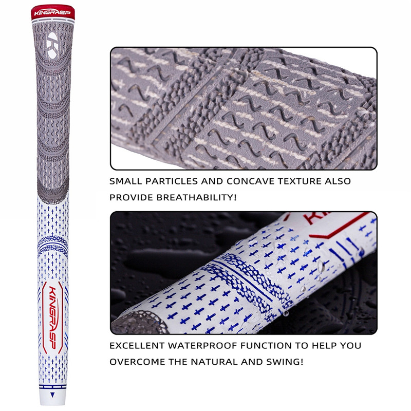 Improves Your Swing Consistency Shock-Absorbing Golf Grips Rubber Golf Driver Grips Wear-Resisting Golf Grips Grip Hotsale