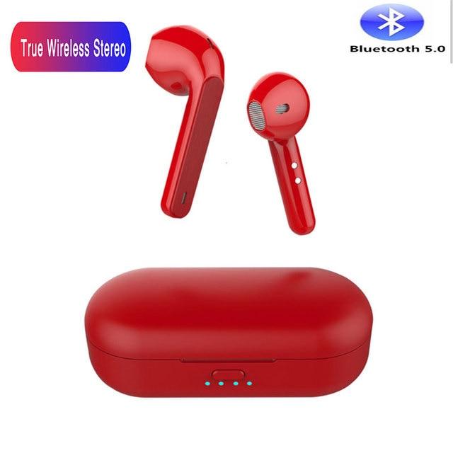 Tws l8 bluetooth fone de ouvido sem fio fones controle toque inteligente 3d surround som pk w1chip i10 i20 i30 tws i90