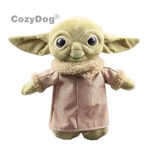 30 см Звездные войны мандалор милый ребенок, плюшевый йода, чучела кукла, детские игрушки, качественные куклы, подарок