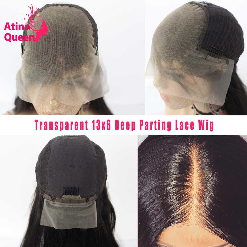 HD Transparent Spitze Perücken Körper Welle Haut Melt Frontal 13x6 Tiefe Spitze Front Menschliches Haar Perücke Für Frauen schweizer Volle Spitze Perücke Remy 130%