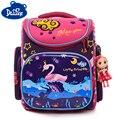Рюкзак для мальчиков и девочек  детский ортопедический школьный рюкзак с 3d-рисунком лебедя
