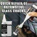 Набор для ремонта лобового стекла автомобиля, 30 мл, клей для отверждения лобового стекла автомобиля, инструмент для ремонта треснувшего сте...
