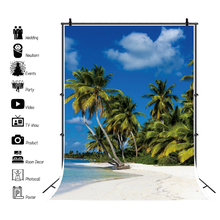 laeacco natural backdrops for photography palms tree beach sand summer holiday blue sky scenic photo background photo studio Laeacco Natural Backdrops For Photography Palms Tree Beach Sand Summer Holiday Blue Sky Scenic Photo Background Photo Studio