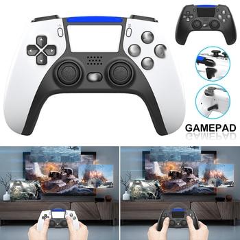 Mando inalámbrico de 6 ejes con doble vibración para PS4, PS5,  1