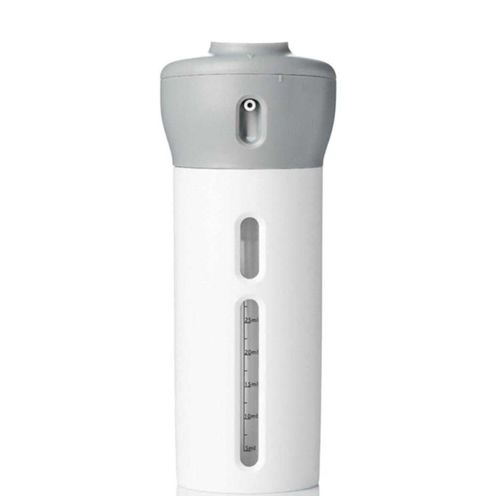 Popular Portable 4 In 1 Lotion Dispenser Bottle Rotate Lotion Shampoo Shower Gel Sub-bottle Travel Emulsion Bottling (1pcs)