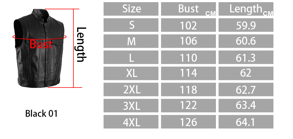 Image 5 - PU Vests Men Sleeveless Jacket Vest Male Streetwear Lether Punk Hip Hop Black 2019 New Brand Motorcycle Waistcoat Jackets Coats-in Vests & Waistcoats from Men's Clothing