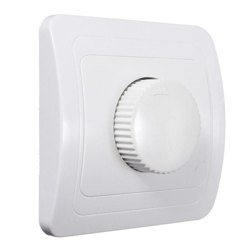 220V/250V Adjustable Controller Dimmer Switch For Dimmable Light Bulb Lamp White Promotion