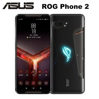 "Brand New Asus ROG Phone II ZS660KL Mobile Phone 8GB 128GB Snapdragon855+ 6.59""1080x2340P 6000mAh 48MP NFC Android9.0 ROG Phone2"