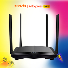 Antennas Wifi-Router Wi-Fi repeater Dual-Band Tenda Ac6 Smart AC1200 Wireless APP Remote-Manage