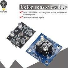 GY-31 tcs3200 módulo sensor de reconhecimento de cor acessórios para mcu arduino tcs230 tcs3200 módulo do sensor de reconhecimento