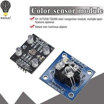 GY 31 TCS3200 модуль детектора распознавание цвета сенсор аксессуары для MCU Arduino TCS230 TCS3200 модуль датчика распознавания|dc dc|input module  | АлиЭкспресс