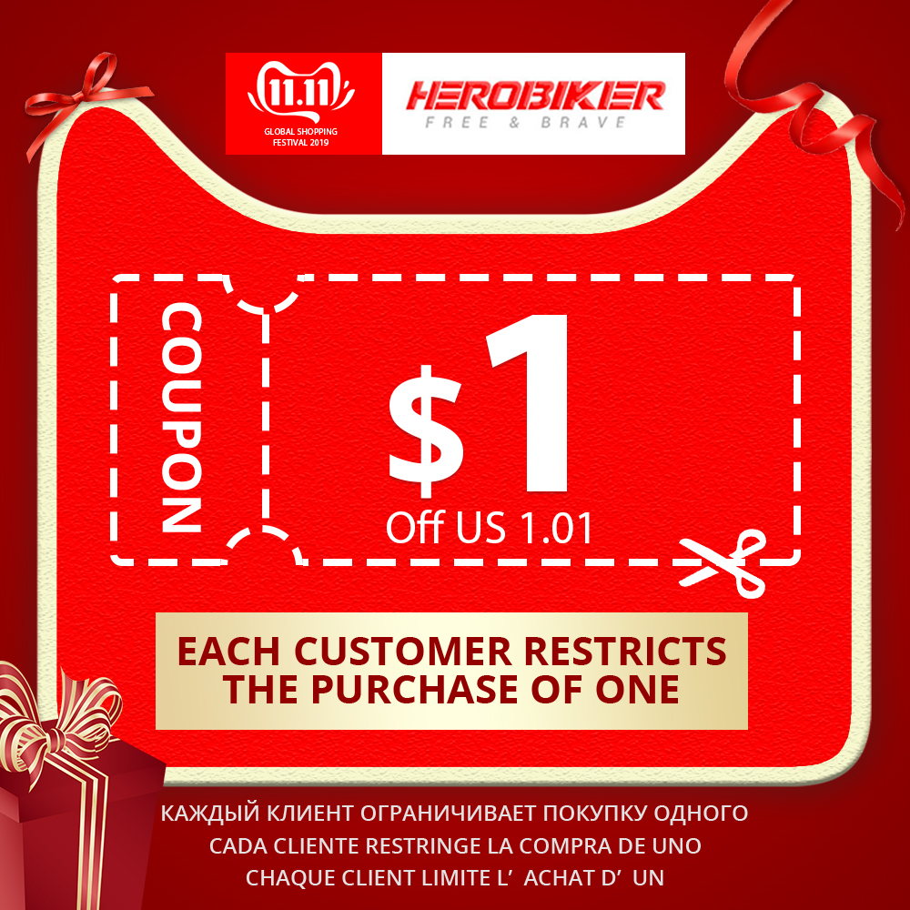 Unconditional Coupon US $1 Available for 11.11 (One customer only can buy 1 piece ; release 20 pieces of coupons every day)