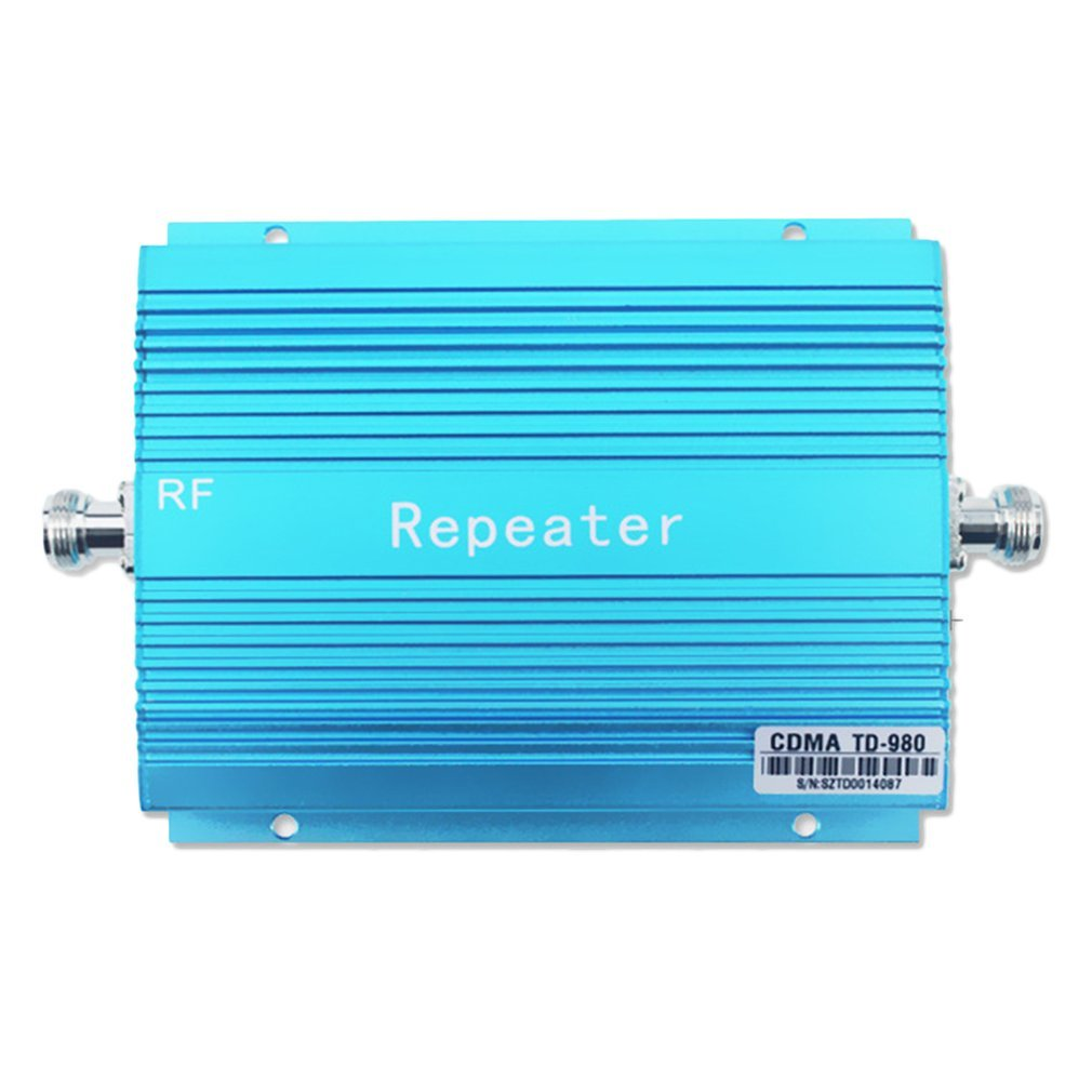 Signal Repeater 850Mhz 3G GSM Wireless Network Booster Mobile Phone Signal Amplifier Booster With Aerial CDMA980 Drop Shipping