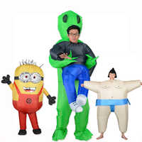 Inflatable Alien T rex Costume Suit Scary Shark Cosplay Costume Halloween For Adult Kid Costume Party Festival Anime Fancy Dress