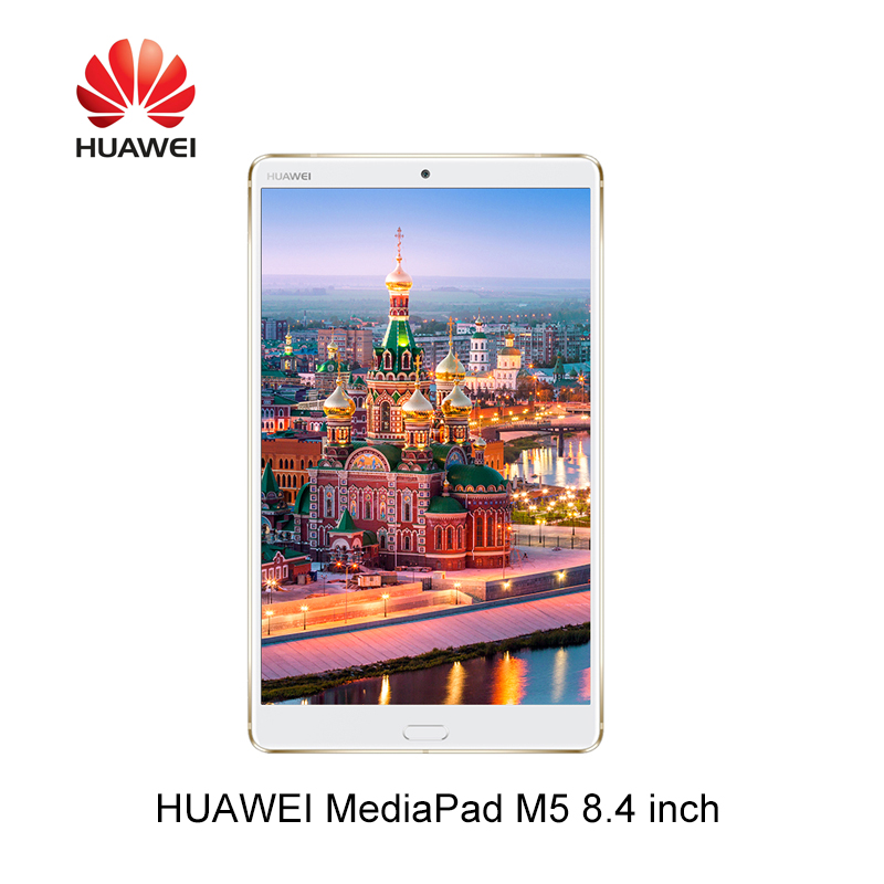Huawei MediaPad M5 8.4 Inch Octa Core 4G Ram 32G/64G/128G Rom Wifi / LTE  Android 8.0 2K IPS 2560x1600 Fingerprint Android 8.0