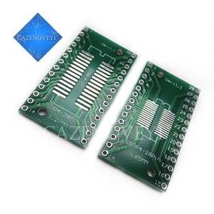 5pcs/lot TSSOP28 SSOP28 SOP28 to DIP28 Transfer Board DIP Pin Board Pitch Adapter In Stock