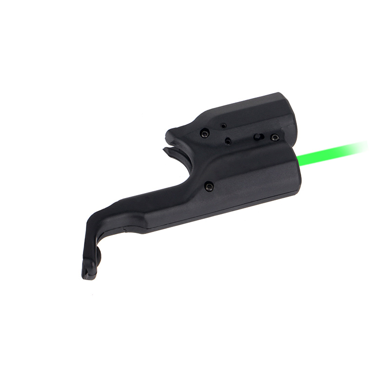 Tactical PPT 5mw Green Laser Sight Fits Glock 17 Beretta M92 1911 for Hunting Accessory gs20-0033 Front Activation-3