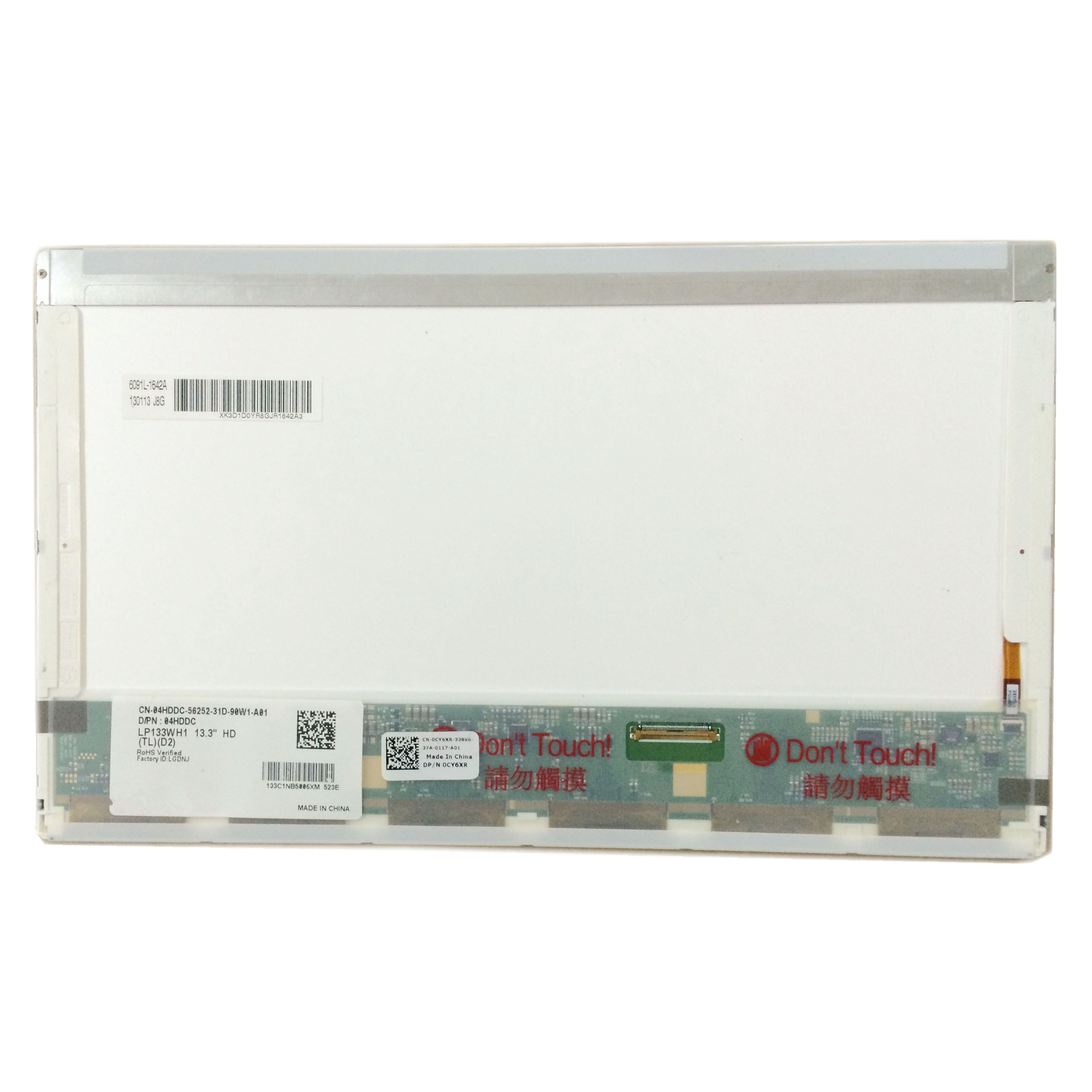 Free Shipping LP133WH1 TLD2 LP133WH1 TLA1 B133XW02 N133B6 L02 Laptop Lcd Screen 1366 768 LVDS 40