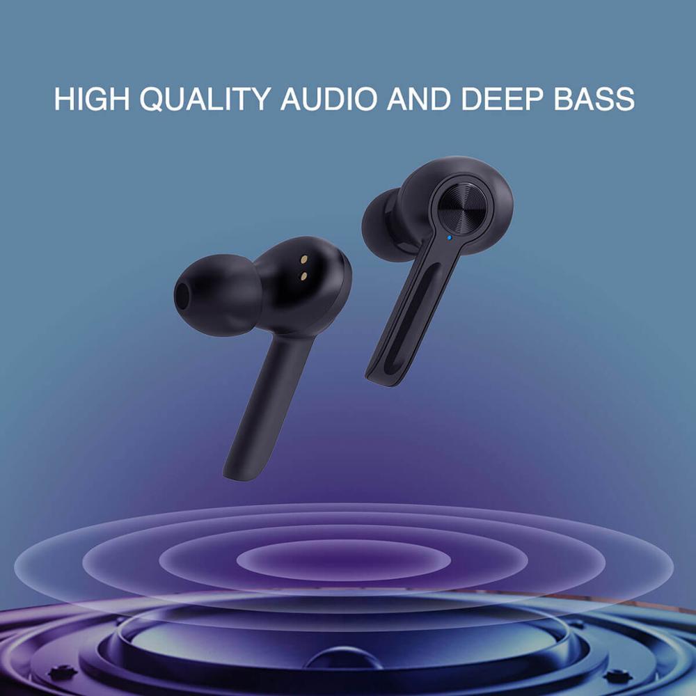Arylic Echte Draadloze Bluetooth 5.0 Lage Latency Oortelefoon Game Oordopjes Met Microfoon Grote Batterij Capaciteit M500 Tws Mic Headset - 6