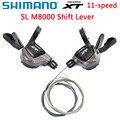 Shimano Deore XT SL M8000 рычаг переключения передач M8000 MTB рычаг переключения передач Rapidfire Plus 3x11 2x11-Speed аксессуары для горного велосипеда
