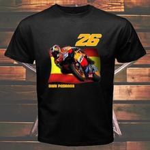 Uomo T shirt PEDROSo Spoin Moto DoNI GP Rider stampato grofico Mon girocollo cotone top blocco taglia S-4XL