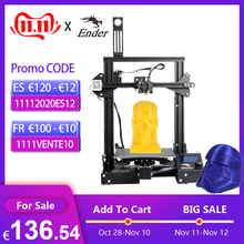 CREALITY 3D Printer Ender 3/Ender 3 pro DIY Kit Large Size I3 3D Ptinter Resume Power Failure Printing MeanWell Power