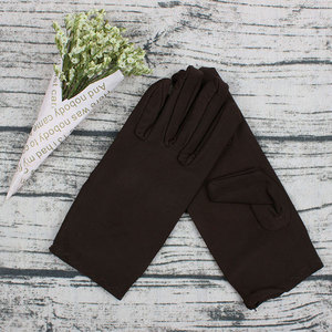 Women Spandex Gloves Classic Thin High Quality Short Sun Protection High Elastic Female Jewelry Etiquette Dance Boutique Gloves