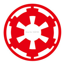 Auto Styling Star Wars Galatic Rijk Car Window Vinyl Decal Body Decoratieve Stickers Pvc Carving Vinyl Decal Auto Accessoire(China)