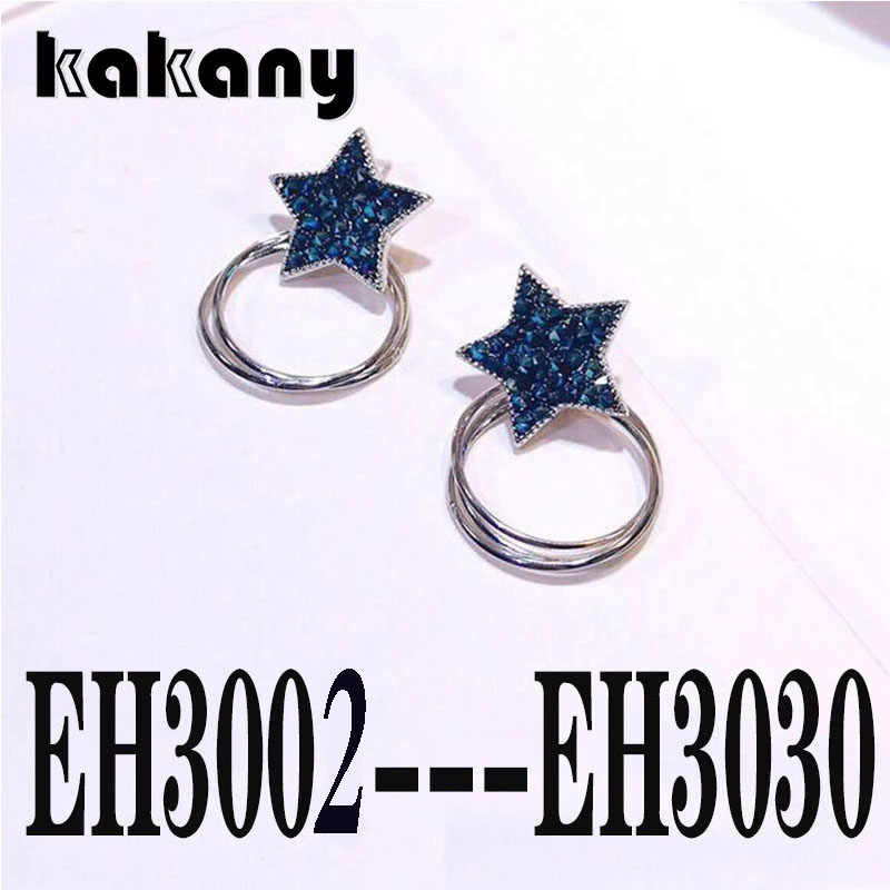 KAKANY From Spanish Classic Bear Jewelry Female Fashion Pop Earrings Coding: EH3001-EH3030