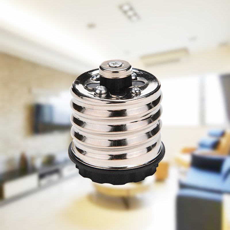 E40 To E27 Base LED Halogen Switch Light Base Lamp Bulbs Socket Plug Holder Adapter Converter Fireproof Material Lighting Socket