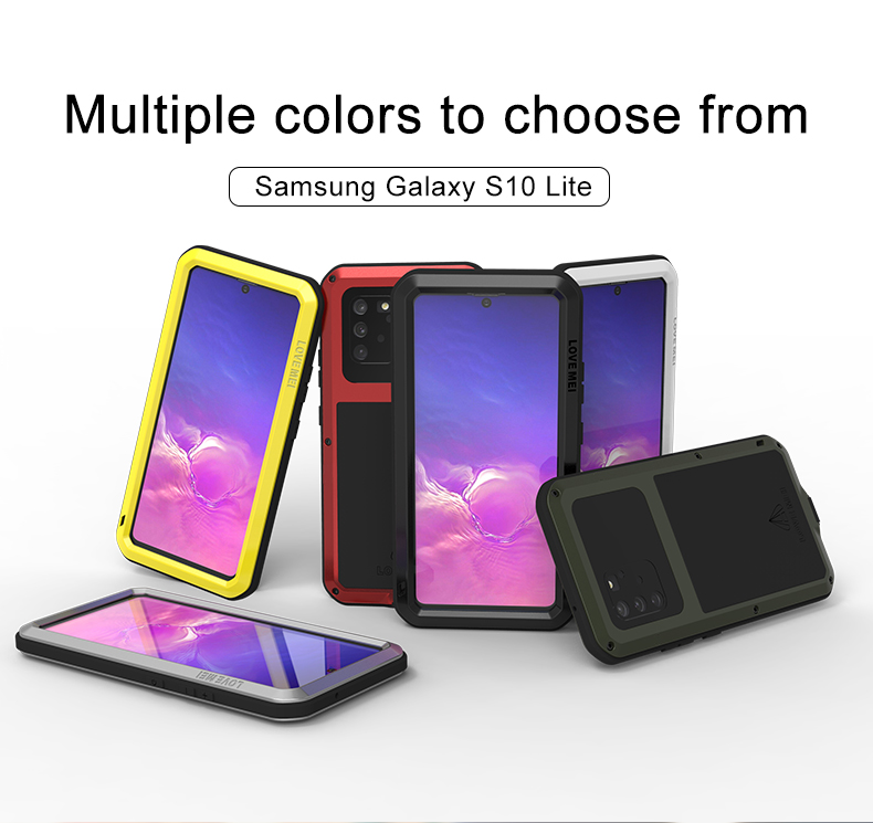 360 Full Protect For Samsung Galaxy S10 Lite Case Funda Silicone Shockproof For Samsung Note 10 Lite Cases S10Lite 2020 Cover