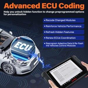 Image 4 - Autel أداة تشخيص السيارة MaxiSys MS906BT ، تشخيص السيارة مع تشفير وحدة التحكم الإلكترونية ، الاختبار النشط ، مفاتيح IMMO ، مستوى OE ، إعادة ضبط الزيت ، EPB ، SAS