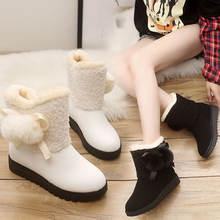 Новинка 2020 зимние ботинки женские ботильоны теплые плюшевые