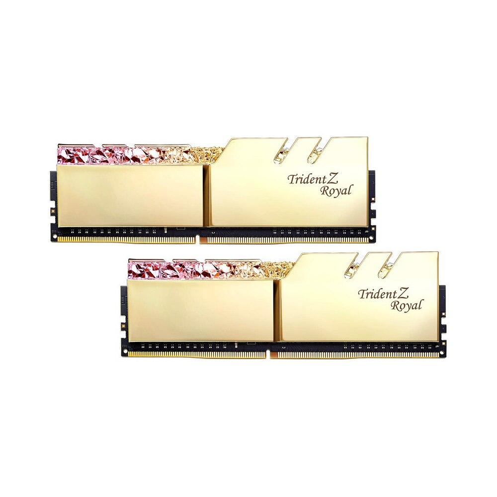 Image 3 - G.SKILL Trident Z Royal Series RGB PC RAM DDR4 pamięć PC4 8GB 32GB 16GB 3200Mhz 3000Mhz 3600Mhz 4266Mhz pulpit 8G 16G 3000 320RAM   -