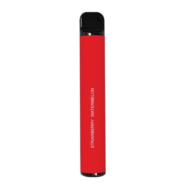 2021 New Fruits Flavor 800 Puffs Disposable Vapor Hookah Electronic Shisha Stick Pen Safe Vaporizer Mini Cigarettes Windproof