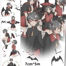 Специальные чернила дьявол/Военная форма для мальчиков, лента для декорации Washi DIY дневник в стиле Скрапбукинг изоляционная лента с выпускная бумага