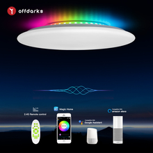 OFFDARKS smart ceiling lamp, compatible with Alexa and Google home,  RGB dimming  ,kitchen,living room,bedroom led ceiling light