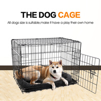 domestic-delivery-pet-dog-cage-house-double-door-super-solid-5-size-dog-kennel-collapsible-easy-install-cage-for-smalllarge-dog