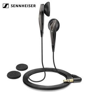Оригинальные стереонаушники Sennheiser MX375, наушники с глубокими басами, 3,5 мм, Спортивная гарнитура с HD разрешением, музыка для iPhone, Android