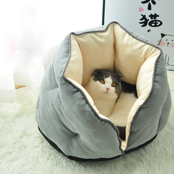 Cat Bed Dog Bed Soft Pet Pad Cushion Pet Mat Dog House Furniture Puppy Blanket Pet Bed Pillow Small Medium Dogs фото