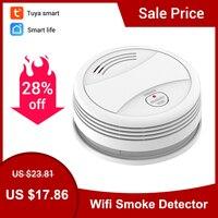 CPVan SM05W WiFi Smoke Detector Tuya Smart Life APP Control Smoke Detector WiFi Alarm Detector Smoke Sensor ???????? ????