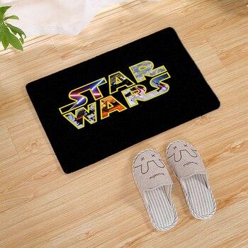 Star Wars Pattern long Door carpet Outdoor Entrance Welcome Pad Soft Rug Doormat Indoor Bathroom Kitchen Carpet Floor Mats цена 2017