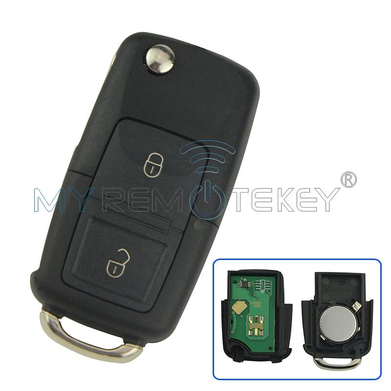 Автомобильный дистанционный ключ для VW Volkswagen Passat Golf Bora Beetle Seat 1J0 959 753 AG ID48 434 МГц 2000 2001 2002 2003 2004 2005 2005 remtekey