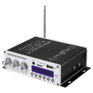 Image 2 - Kentiger V10 усилитель Bluetooth Hi Fi класс Ab стерео супер бас аудио усилитель мощности автомобиля старшее Экранирование Встроенный канал