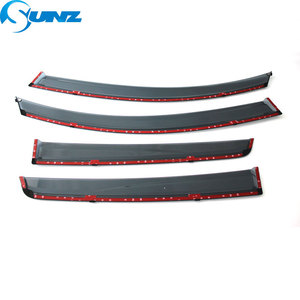 Image 5 - Side Winodow Deflectors For Chevrolet Spark 2010 2011 2012 2013 2014 2015 2016 2017 2018 Car Wind Deflector Sun Rain Guards SUNZ