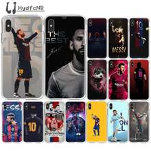 LJHYDFCNB Argentina football Messi TPU Soft Silicone Phone Case Cover for iPhone 11 pro XS MAX 8 7 6 6S Plus X 5 5S SE XR cover(China)