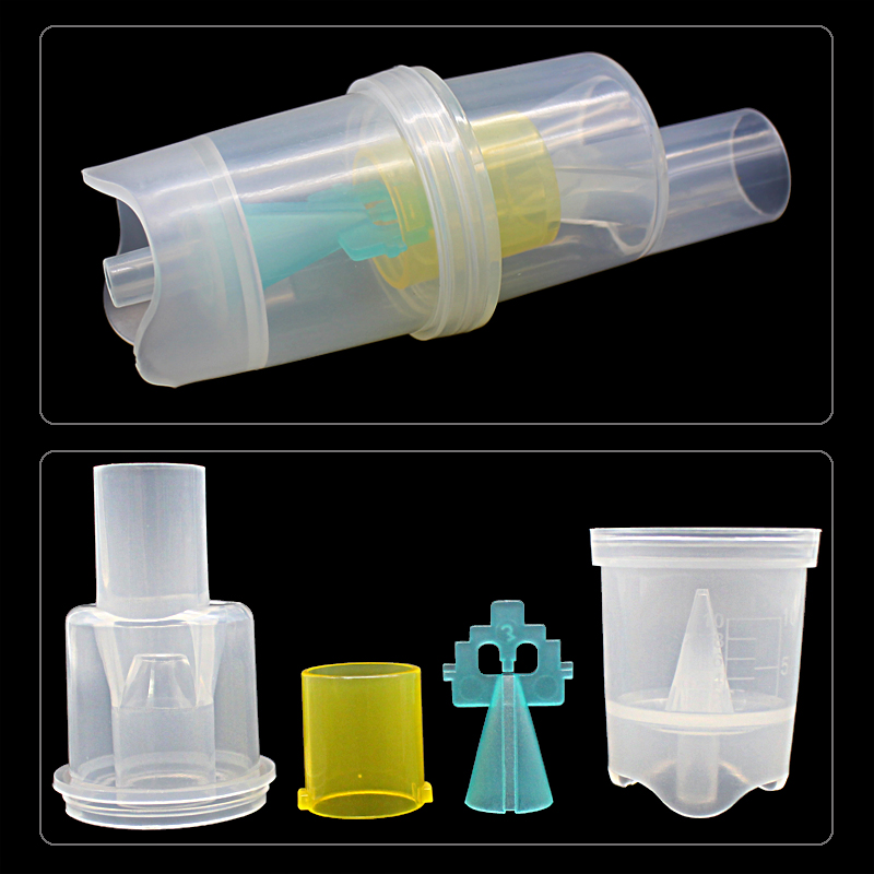Health Care 10ML Inhaler Parts FDA Medicine Tank Cup Compressor Nebulizer Accessary Atomized Spray Injector Free Shipping